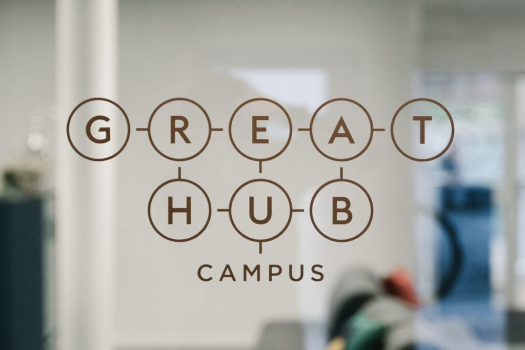 Entré till Great Hub Campus