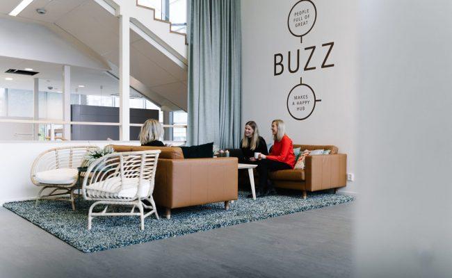 Moderna coworkinglokaler i Umeå