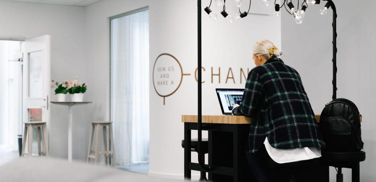 Ljusa och fräscha kontorslokaler för coworking